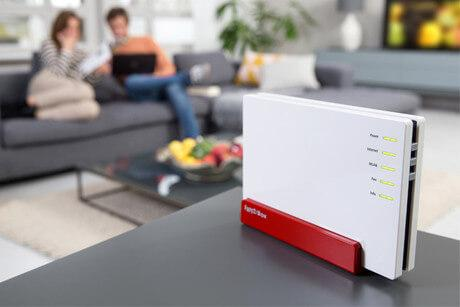 FRITZ!Box 7580 Router mit Mu-MIMO WLAN Technologie