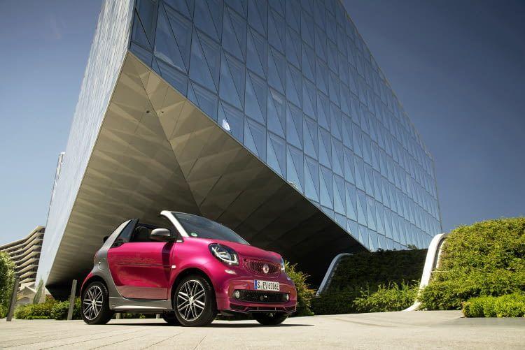 Der smartfortwo electric drive ist in vier Ausstattungslinien lieferbar