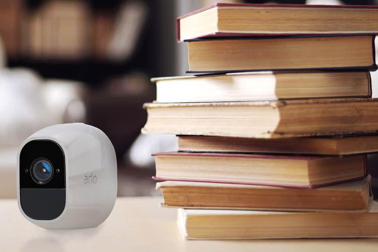 Die Outdoor-Überwachungskamera Netgear Arlo Pro 2 lässt sich auch im Innenbereich einsetzen