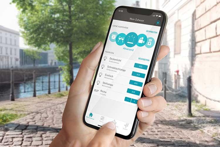Neben Lampen lässt sich auch die Heizung per App steuern