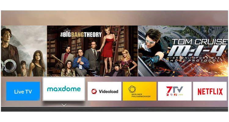 Samsung Smart TVs können unzählige Entertainment-Apps wiedergeben