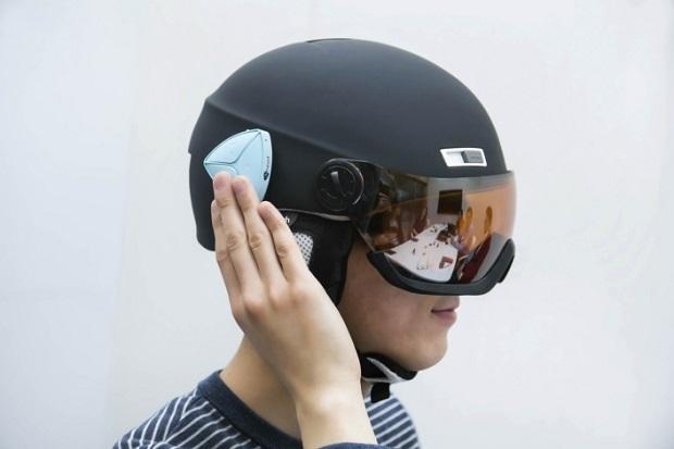 Ahead - Helm zum Telefonieren und Musik hören
