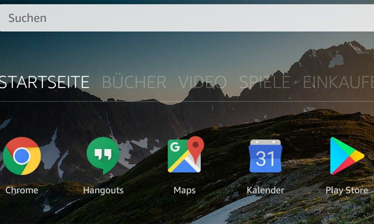 Nun lassen sich Google-Apps auf das Amazon Fire-Tablet downloaden