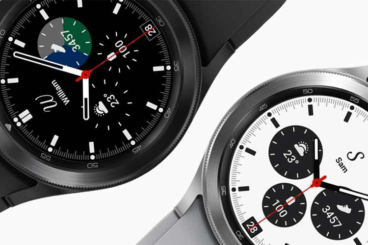 Beide Galaxy Watch 4 Varianten verbinden edles Design mit moderner Tracking-Technik