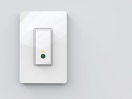 Belkin WeMo Switch light