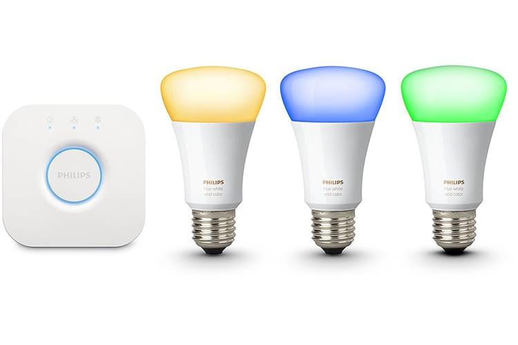 Millionen Farben bietet das Philips Hue White & Color Ambiance E27 Starterset