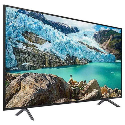 Mit dem 55 Zoll Fernseher Samsung RU 7179 machen Käufer nichts falsch - der TV bietet aktuelle Technik zum fairen Preis