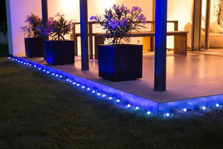 OSRAM LIGHTIFY GardenSpot Mini im regulären Einsatz