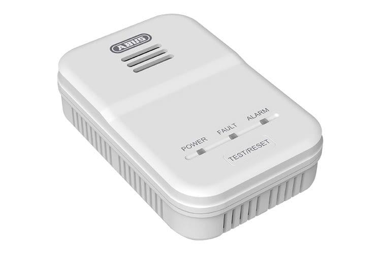Der ABUS Gaswarnmelder GWM100ME registriert Methan und warnt frühzeitig, bevor es zu Vergiftungen oder Explosionen kommt
