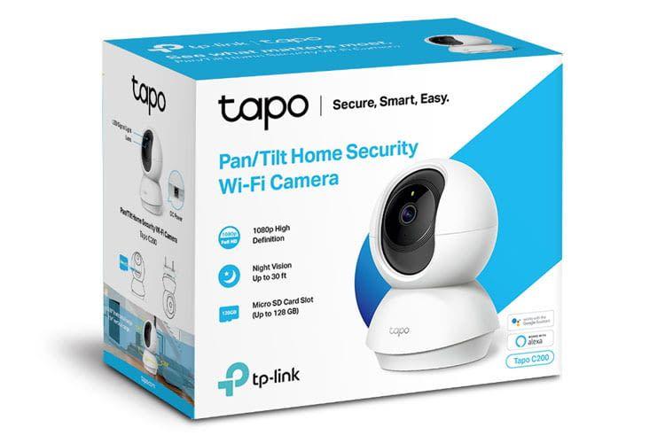 Die Überwachungskamera C200 ist mit Alexa und Google Assistant kompatibel