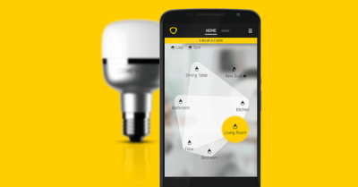 ComfyLight LED Lampe und die ComfyLight App