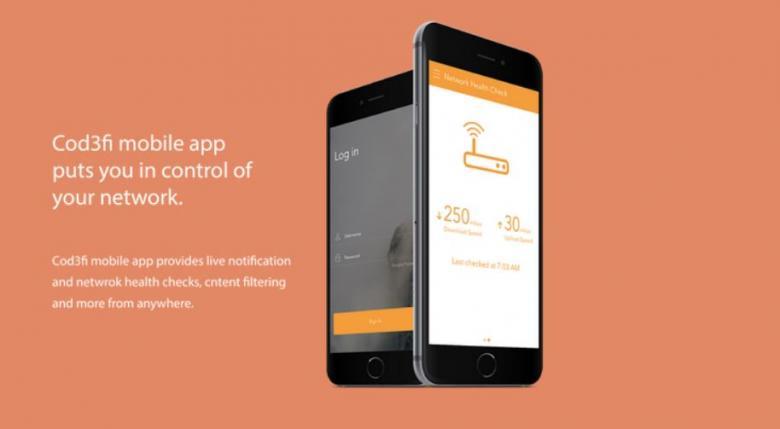 Cod3fi Router App
