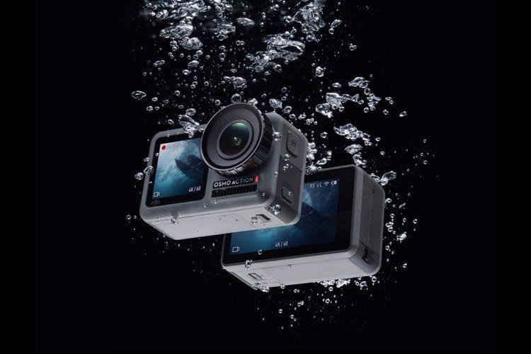 Ergänzt werden die Bedientasten an der Cam durch eine Hersteller-App mit Fernsteuerungsoption