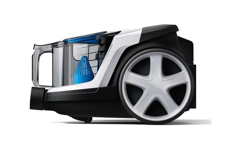 Philips empfiehlt den Abluftfilter von PowerPro Compact einmal jährlich zu wechseln