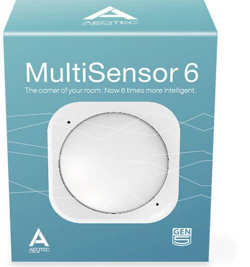 Aeotec MultiSensor 6 - integriert 6 Smart Home-Sensoren