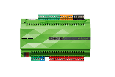Der Loxone Miniserver. Das Smart Home Herzstück von Loxone. Einfach zu bedienen und automatisiert.