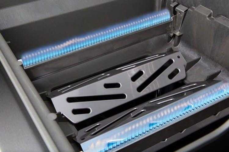 Das Brennersystem wurde bei der Genesis II-Reihe von Weber verbessert
