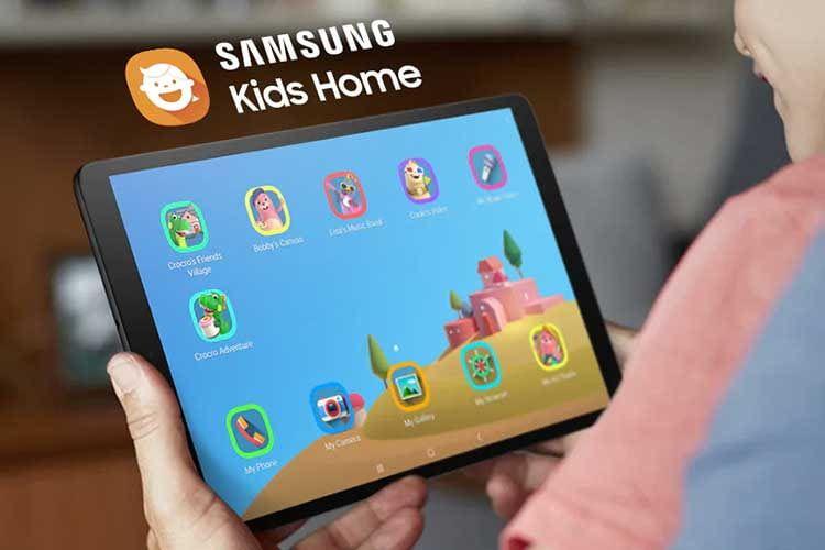 Mit Samsung Kids Home lässt sich ein kindgerechter Tablet-Bereich auf dem Samsung Galaxy Tab A 10.1 einrichten