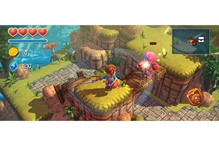 Das oft als Zelda-Klon bezeichnete Adventure Oceanhorn hält viele unterhaltsame Spielstunden bereit