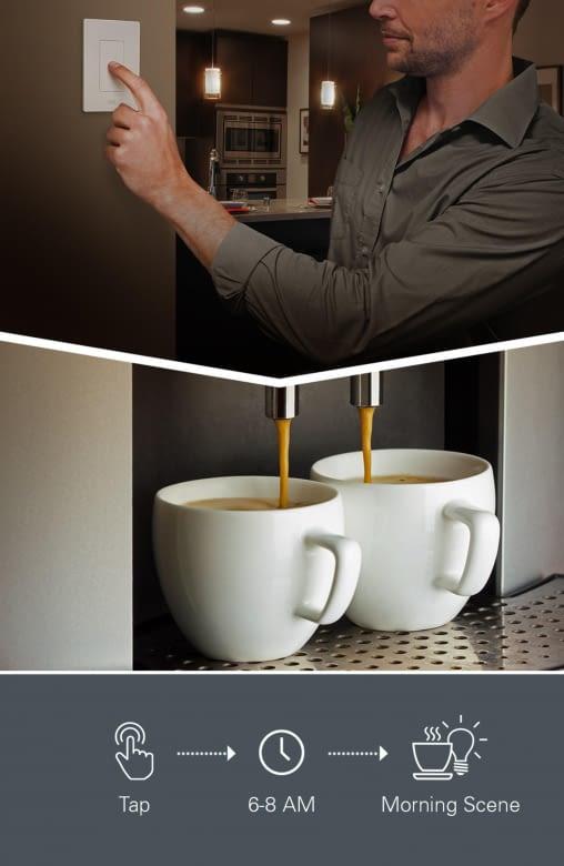 Kaffee auf Knopfdruck mit dem intelligenten Elgato Eve Light Switch