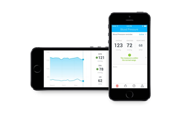 blutdruckmanschette-withings-blood-pressure-monitor-ergebnisse-in-health-mate-app
