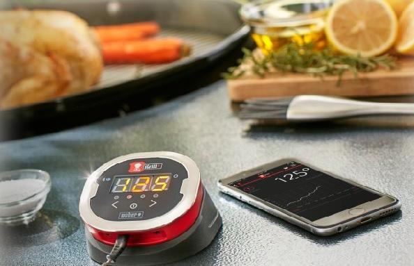 Weber iGrill smartes Grillthermometer @ weber.com