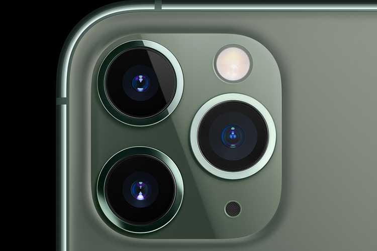 Apples iPhone 11 Pro Modelle verfügen über eine Triple-Kamera