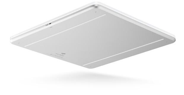 Body Cardio Waage Rückseite - Verbindung über Bluetooth und WLAN