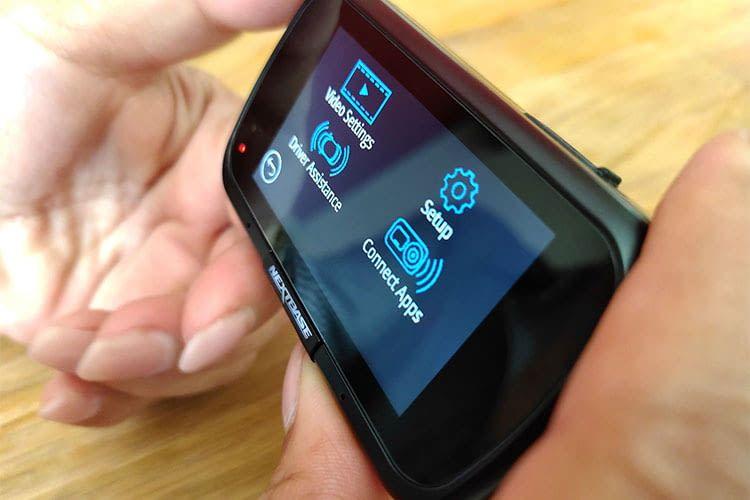 Die neuen Dashcams mit Touchscreen vereinfachen die Bedienung enorm