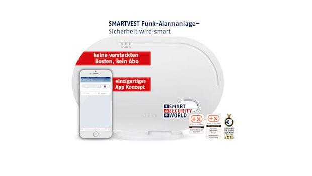 ABUS Smartvest - Die Funkalarmanlage mit zahlreichen Awards und Auszeichnungen