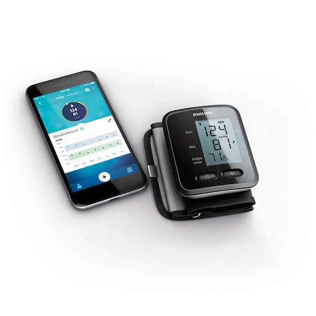 Philips Blutdruckmessgerät: Wrist blood pressure monitor