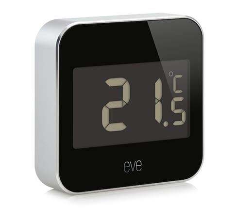 Der Elgato Eve Degree Monitor wacht über Temperatur und Luftfeuchtigkeit