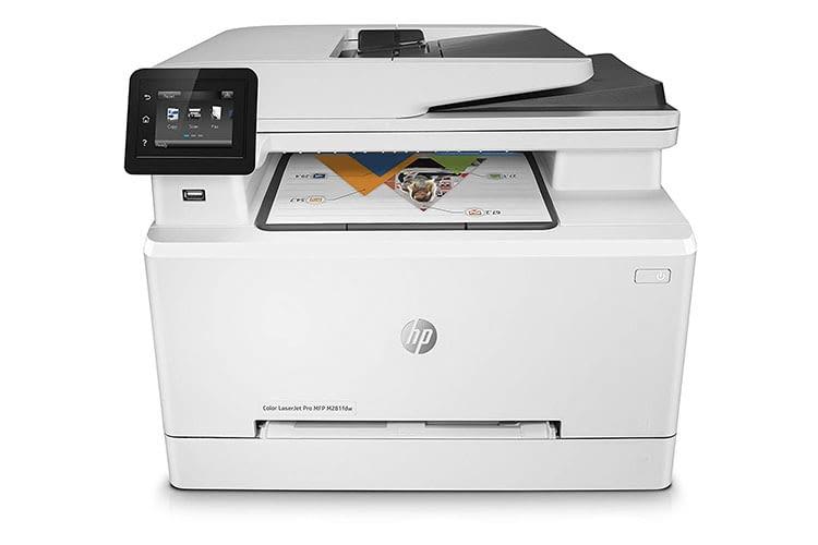In Tests überzeugt der Laserdrucker HP Color LaserJet Pro-MFP M281fdw mit Vielseitigkeit