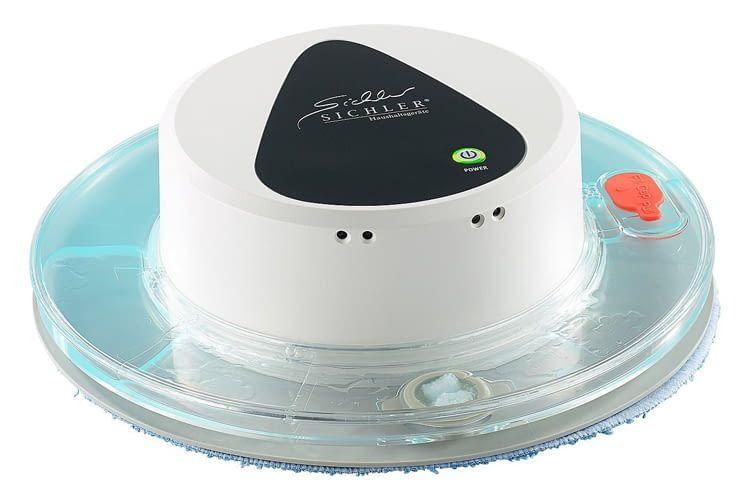 Der Sichler Boden-Wisch-Roboter PCR-1130 beherrscht die Nass- und Trockenreinigigung