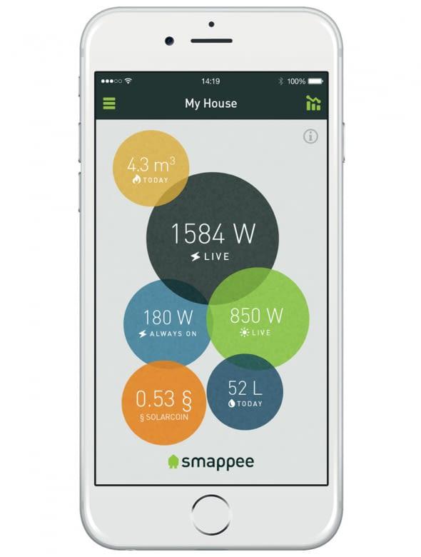 Die kostenlose App bietet einen umfassenden Überblick über den Stromverbrauch sowie -erzeugung.