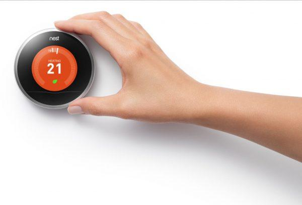 Steuerung Nest Thermostat