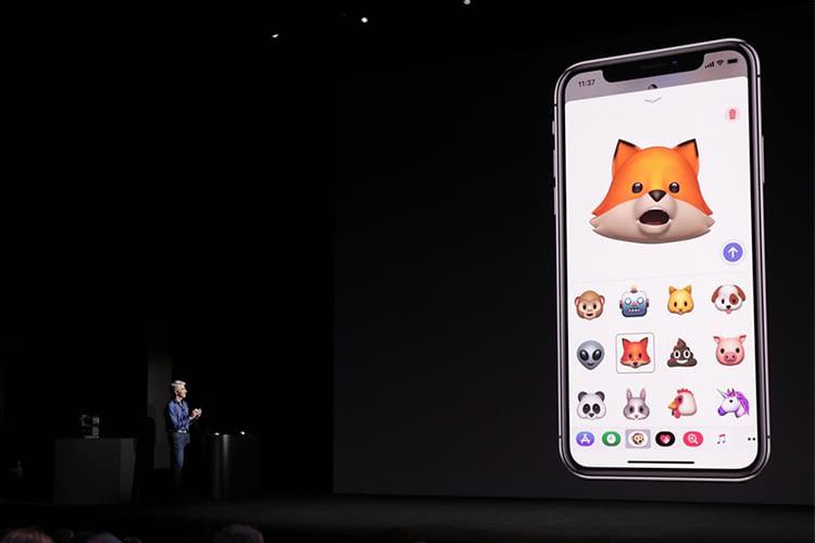 Mit Animoji bekommen Emojiis einen individuellen Touch
