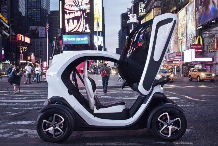 Der Renault Twizy ist für den urbanen Dschungel und die Metropolen der Welt geschaffen