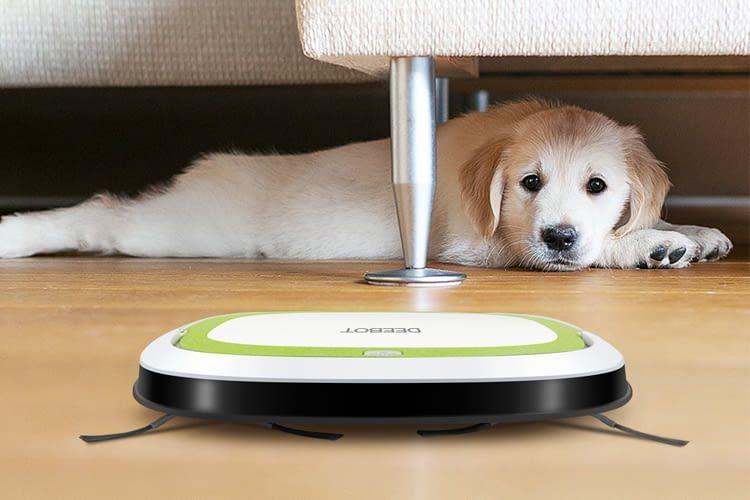 Vor allem für Haustierbesitzer bedeutet ein Saugroboter meist eine große Erleichterung