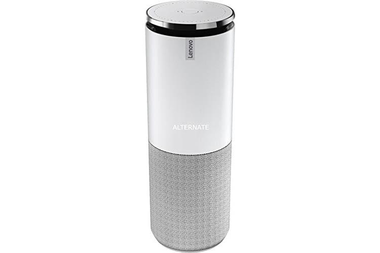 Der Smart Assistant von Lenovo ist gut verarbeitet und kann auch klanglich als Echo-Alternative mithalten