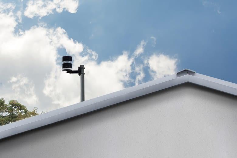 Der Netatmo Windmesser benachrichtigt, wenn es stürmisch wird