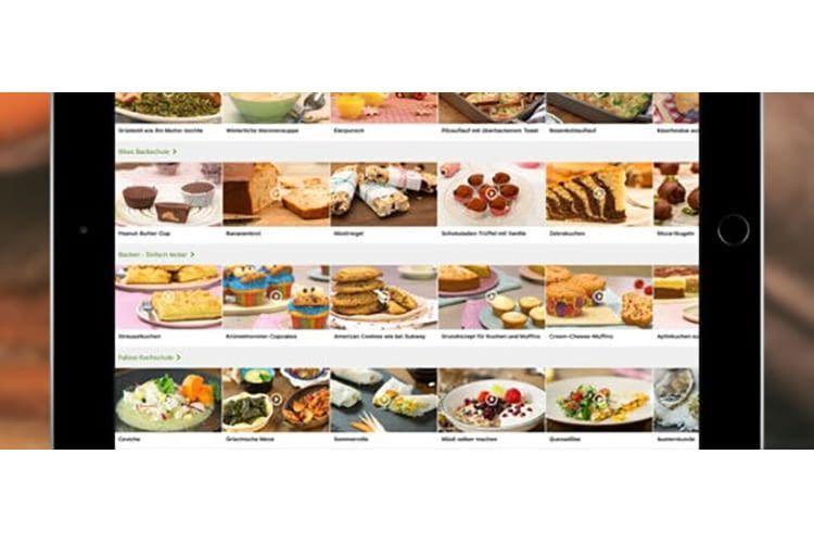 Wer Lust hat, kann Chefkoch Zubereitungs-Videos auch auf dem Fernseher anschauen