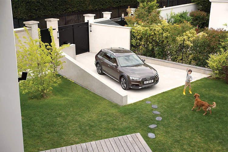 Nur das eigene Grundstück darf per Außenkamera überwacht werden