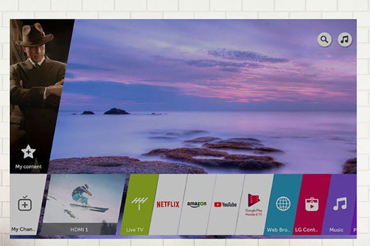 Manche Smart TV von LG verfügen über ein eigenes WebOS, über das Nutzer Apps ansteuern können
