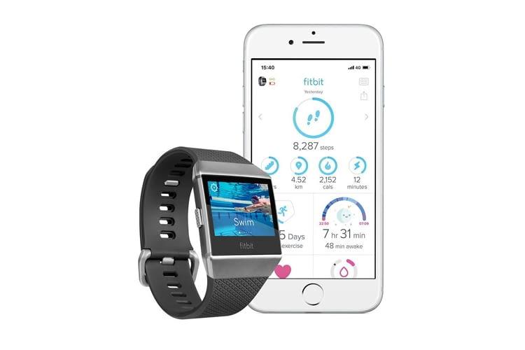 Fitbit Ionic eignet sich auch zur Analyse von Schwimm-Einheiten