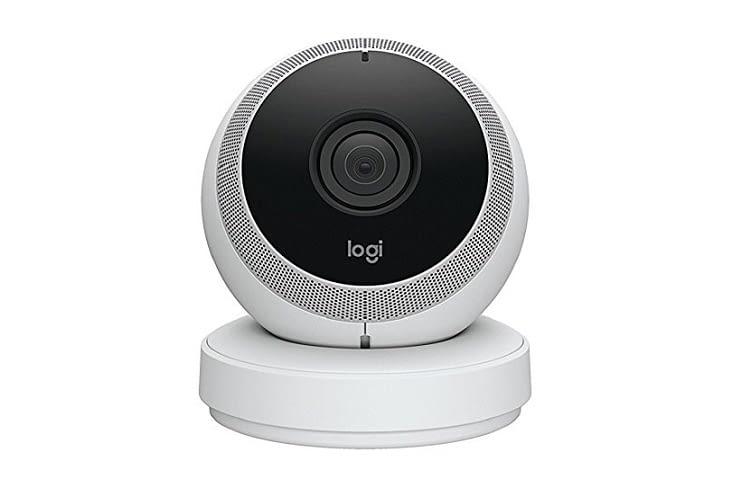 Die Logitech Circle Kamera gibt es in weißer oder schwarzer Ausführung
