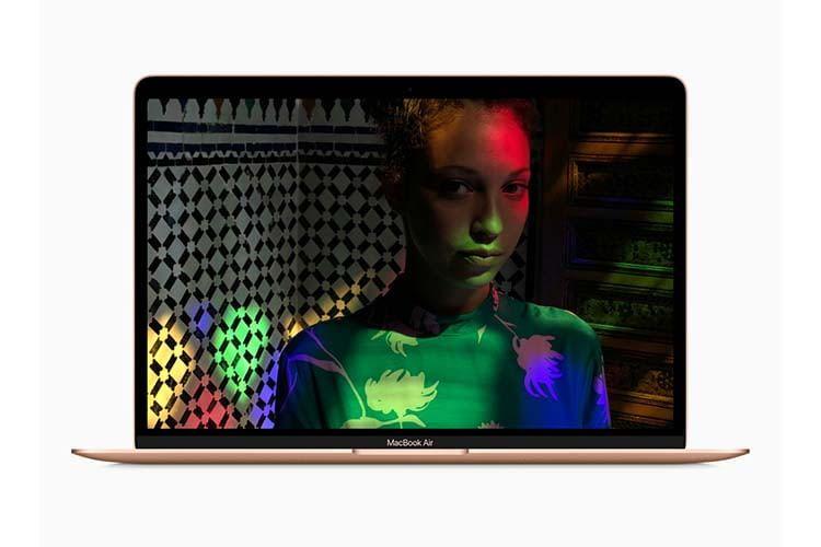 Das MacBook Air mit Retina-Display bringt  Farben zum Leuchten