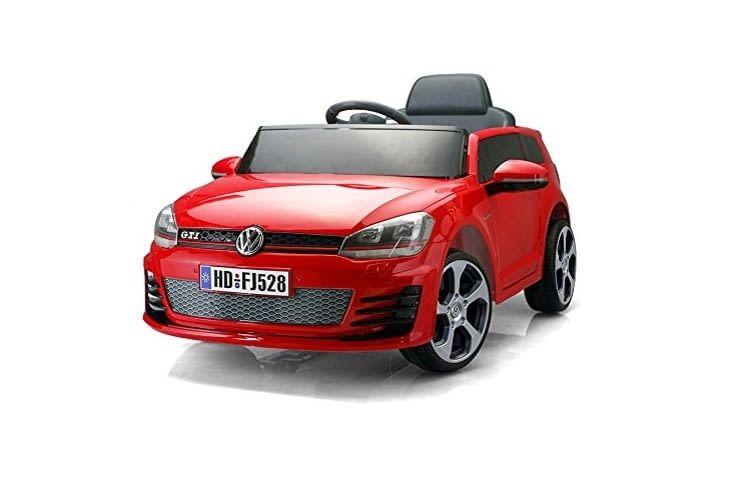 Das klassisch-sportliche Elektroauto für Kinder: der VW Golf GTI
