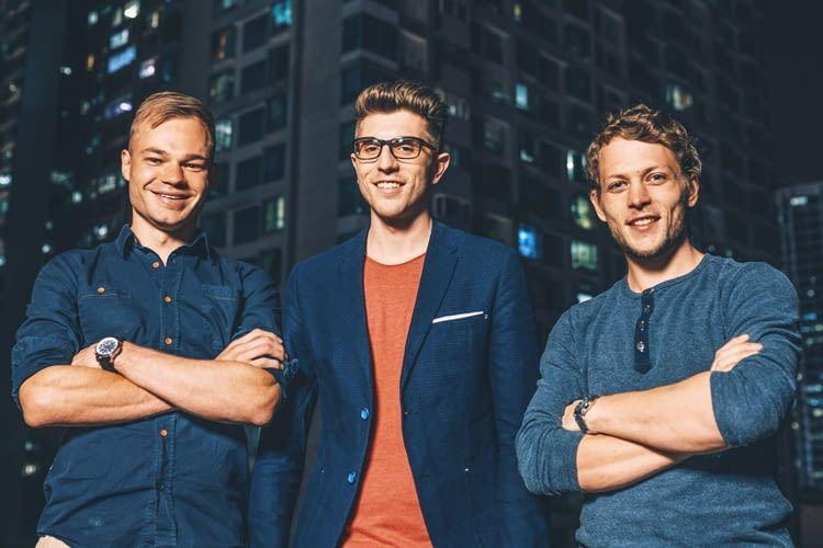 Das Gründer-Team von VoltStorage