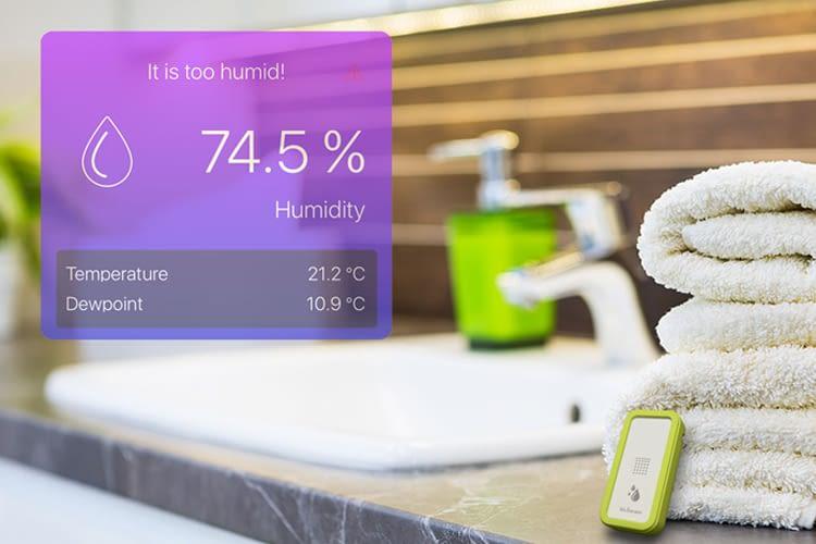 Nicht nur im Bad findet bluSensor sinnvoll Anwendung